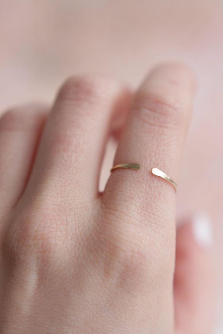Gorgeous minimalistic ring, ult - stardustmine | ello