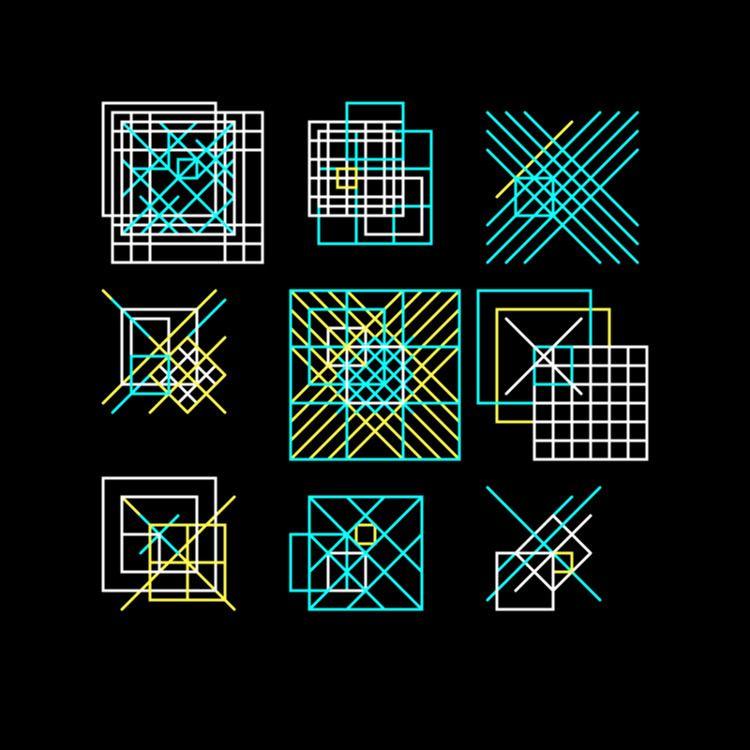 Geometric Shapes / 180421 - processing - sasj | ello