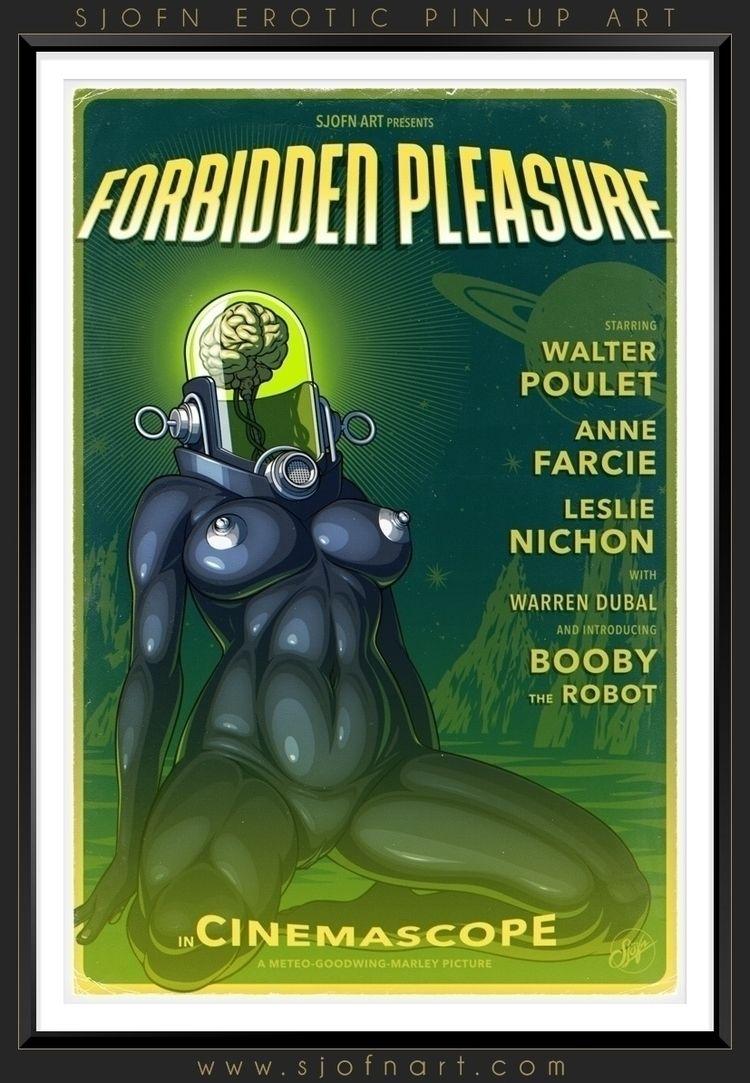 Forbidden pleasure - February 2 - sjofnart | ello