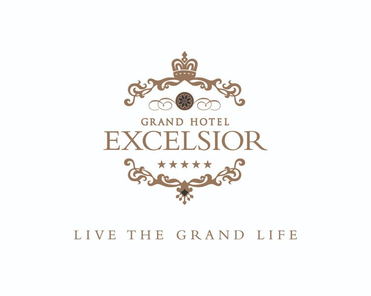 Grand Hotel Excelsior brand log - johnbaldacchino | ello