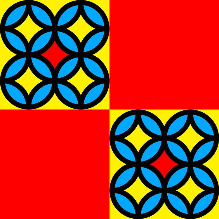 Colored Circles Red Squares Dig - istvanocztos | ello