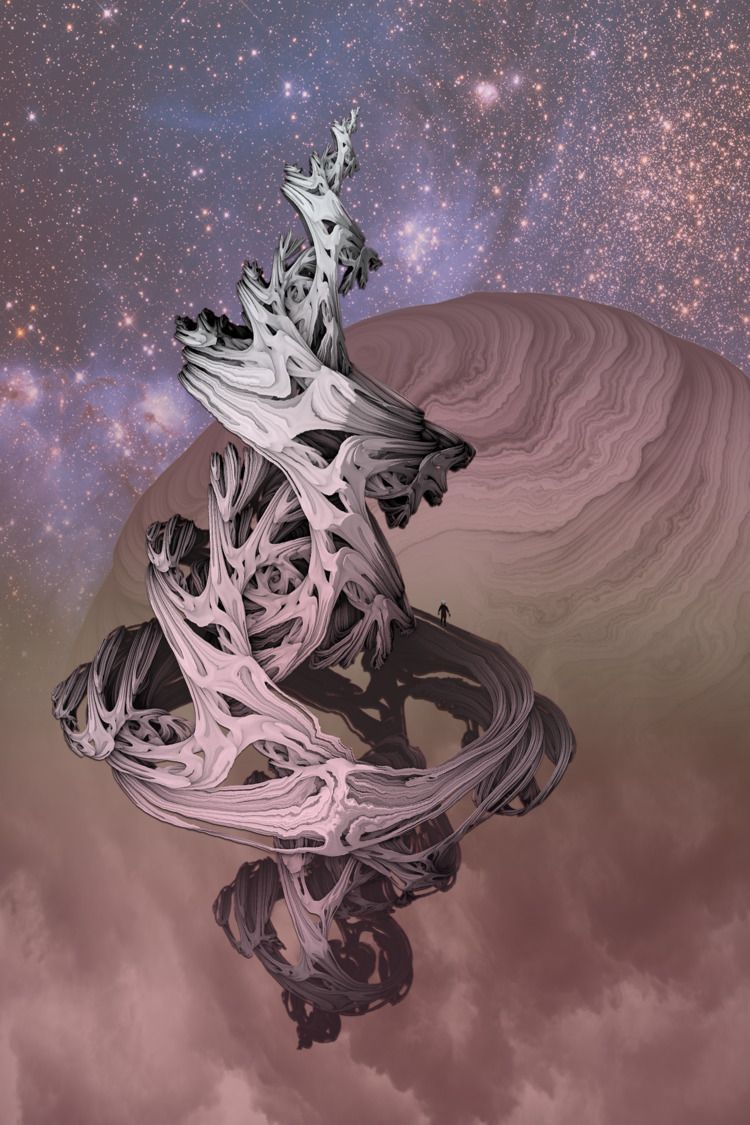 future space traveler - math, abstract - jazer | ello