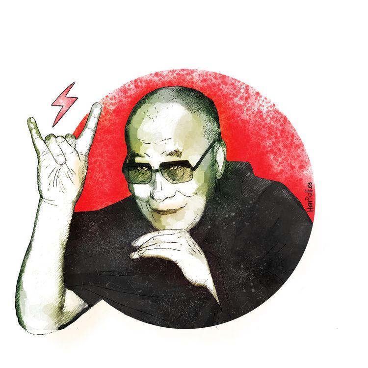 DalaiLama, Dalai, Tibet, Buda - herrralf | ello