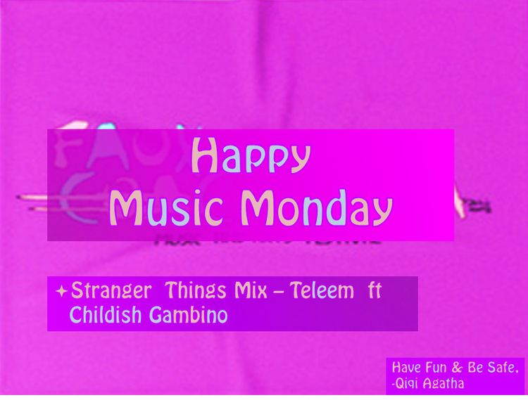 Happy Monday!! Music Monday rem - agathacards | ello