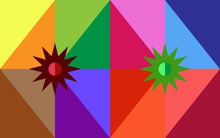 Playing color - Color, Illustrator - x504xpulpo | ello