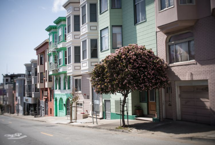 sanfrancisco, paintedhouses, lensbaby - kenmitchell | ello