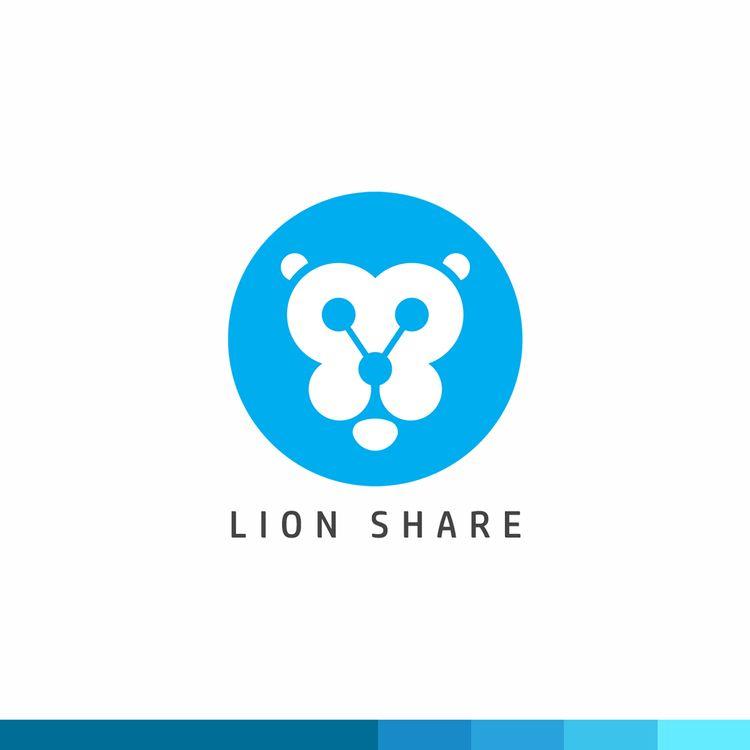Lion Share + Icon (Unused File  - ploggeddotcom   ello