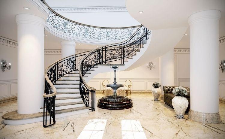 TITLE: White Villa Entrance Has - hassanjaber | ello