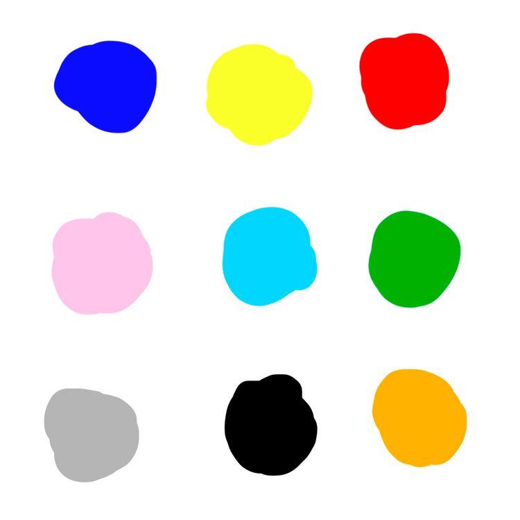 color palette - illustration, colors - jimenadie | ello