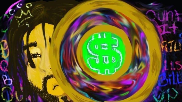 ATM, jcole, artist, digitalgraffiti - ink52bandits52 | ello