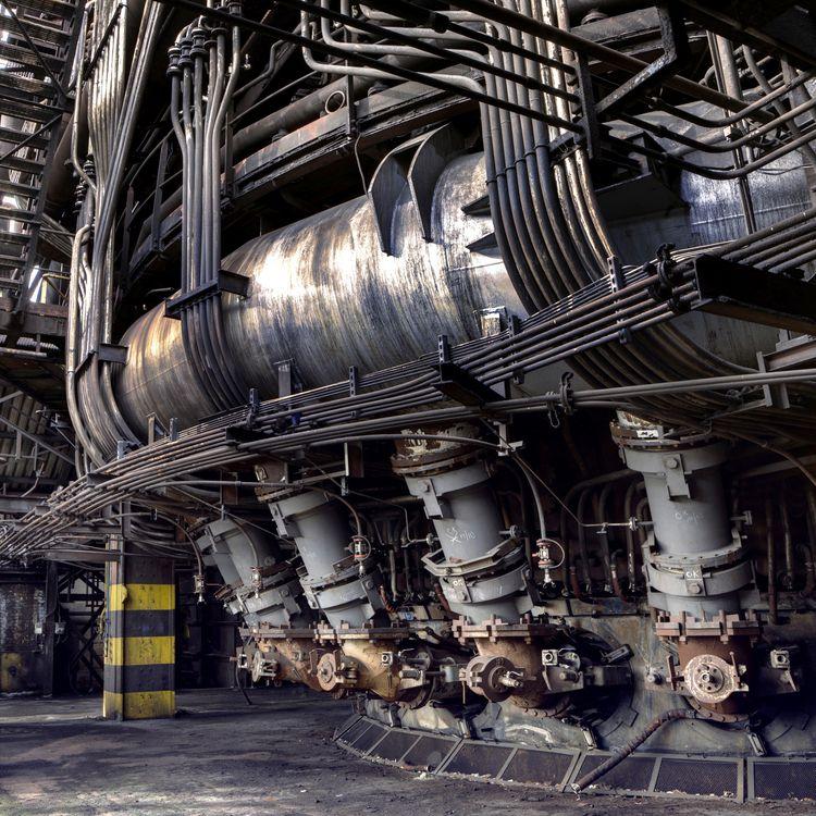 Abandoned HF6 industrial blast  - forgottenheritage | ello