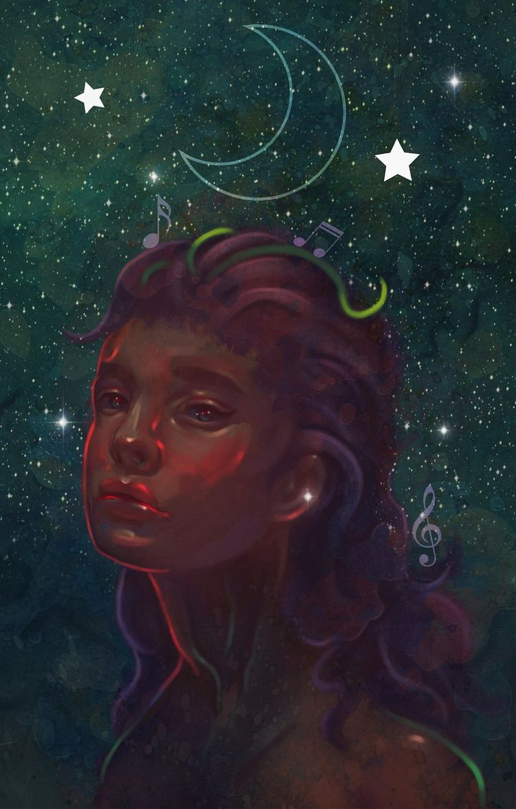Star lullaby-2017 - digitalpainting - veuliahart | ello