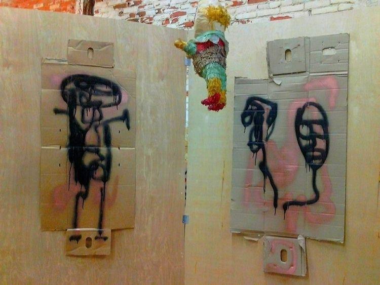pinata, artiststudio - anthonycandkarenm | ello