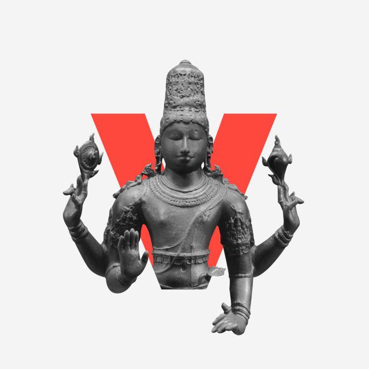 Divine Type: Vishnu  - 36daysoftype - zneuta | ello