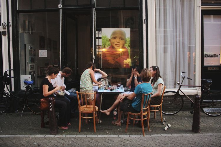 Nieuwmarkt, October 2011 Folks  - circularfunk | ello