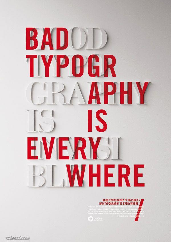 50 Creative Typography Designs  - benim_jbweb | ello