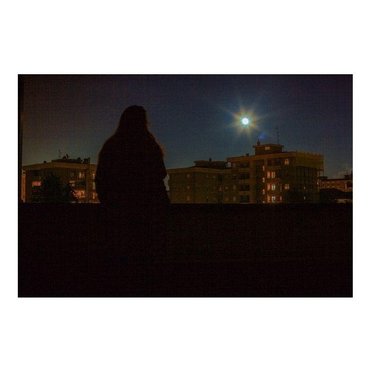 super moon (2017 - photography, selfportrait - susannataco | ello