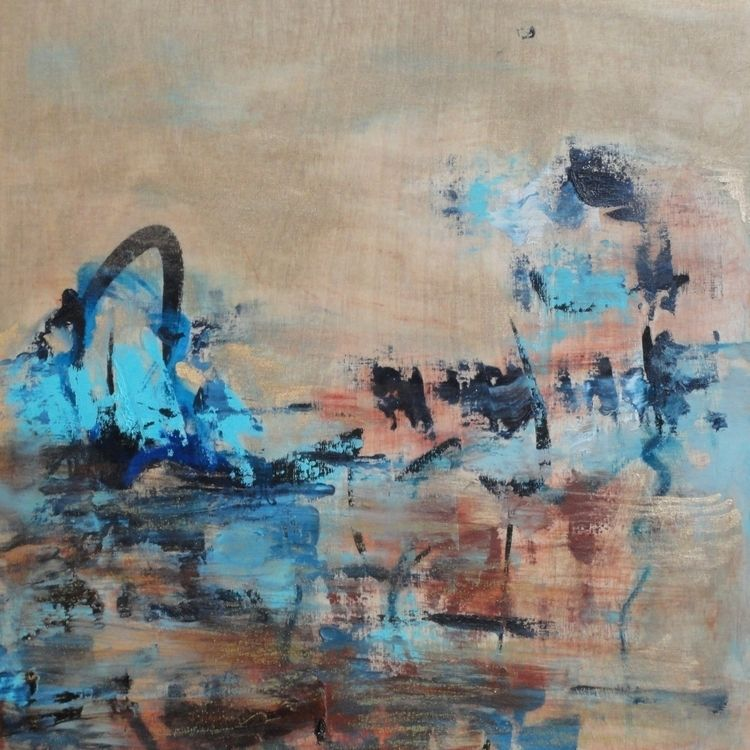 Longin Harbour - harbour, painting - artleenakr | ello