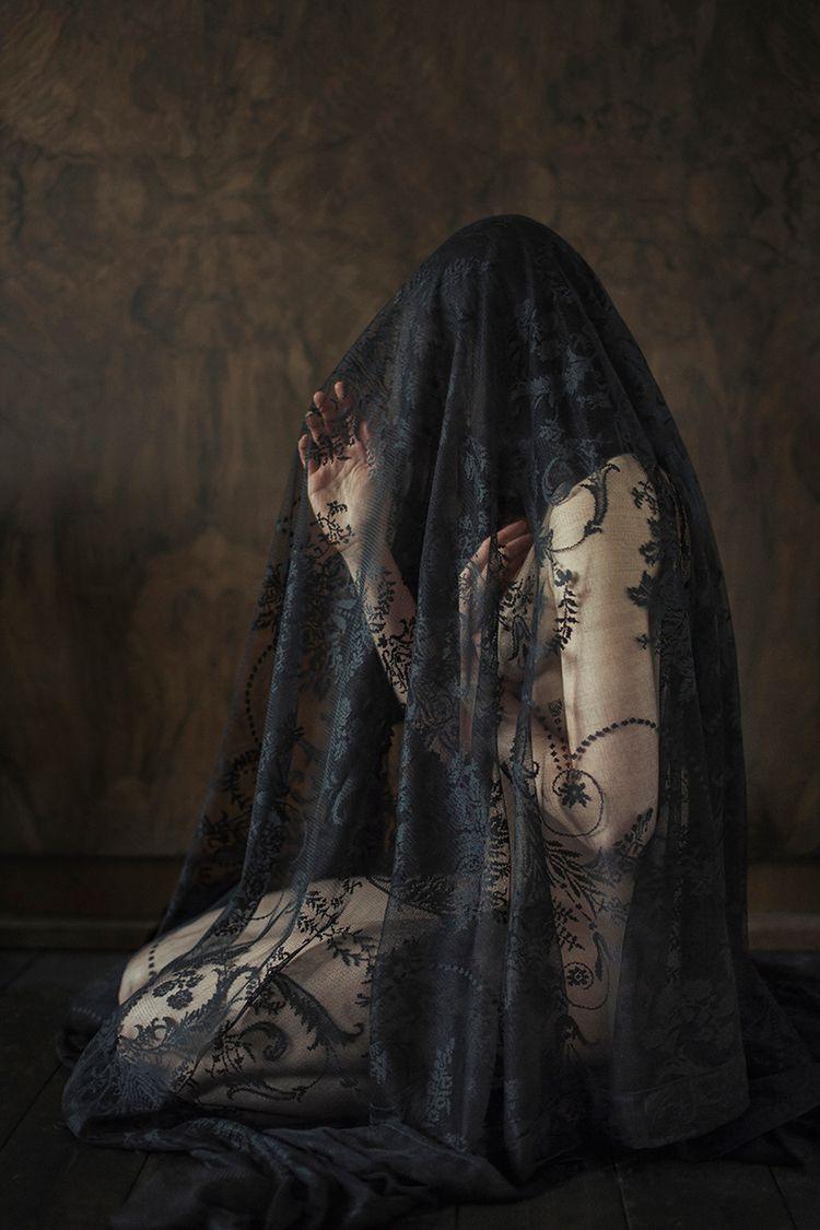"Mourning"" — Photographer: Iness - darkbeautymag | ello"