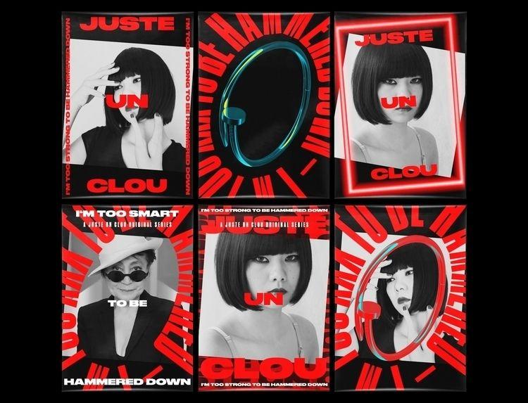 Posters Juste Clou brand campai - onrepeat | ello