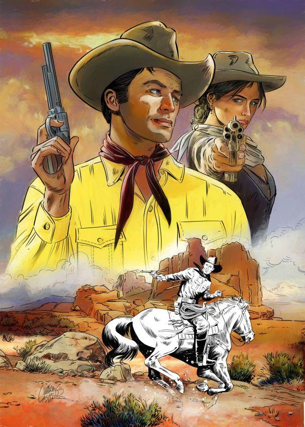 Tex Willer, sob meu olhar - casttro | ello