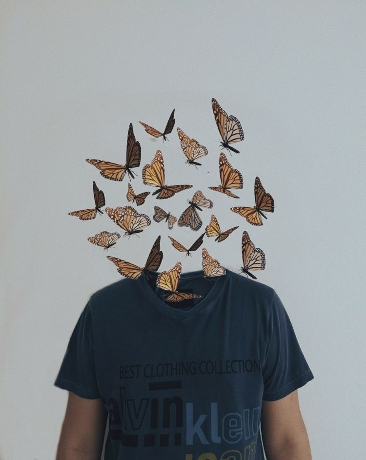 🦋 - photography, art, collage, brazil - uedwardo | ello