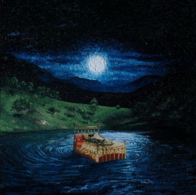 Lua Moon), 2018 - giosimoes, oiloncanvas - giosimoes   ello