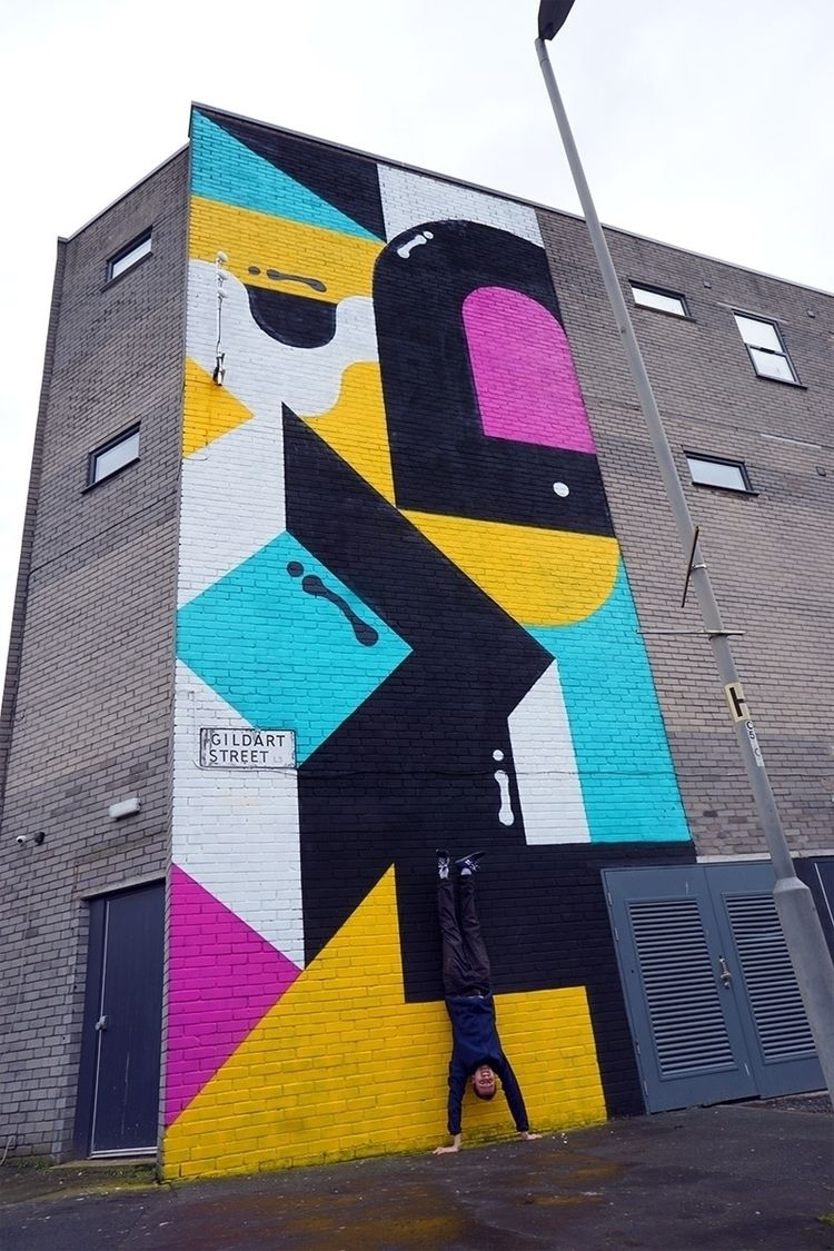 wrap brand Art Wall Gildart Str - darrenjohn | ello