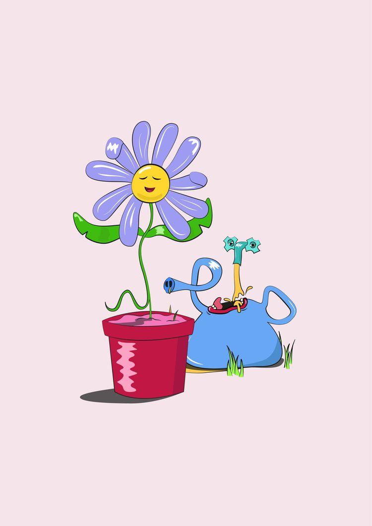 Spring time - spring, illustration - phi-yen | ello