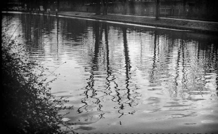 mirror photography water film - analog - dellingri | ello