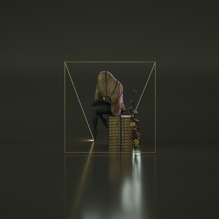 Alright - cinema4d, abstract, octane - raxdesigns | ello