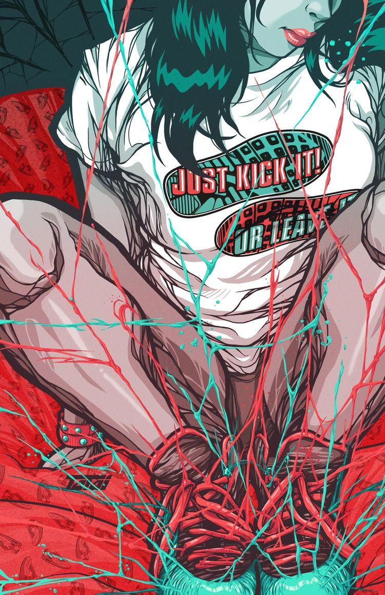 Kick Girl Carlos Semerena - TalenthouseArtist - talenthouse   ello