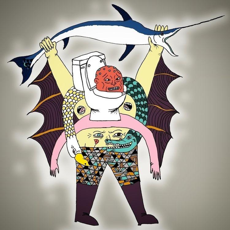Goofin  - illustration, drawing - jbnda   ello