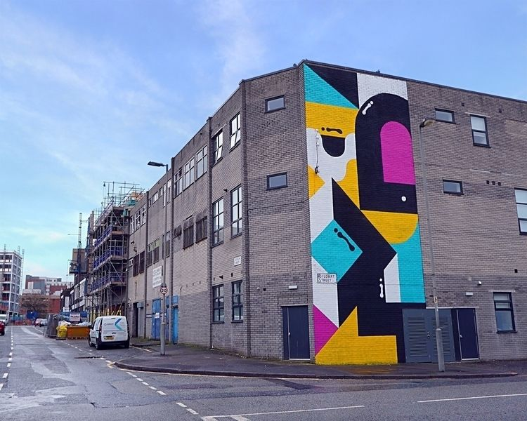 nice big wall painting Liverpoo - darrenjohn | ello