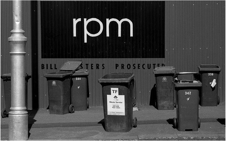 Rubbish photograph - film, streetphotography - michaelfinder | ello