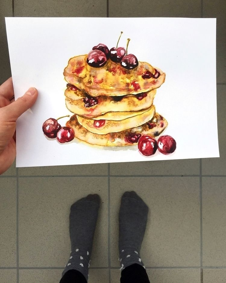 foodillustration, illustration - andrealala | ello