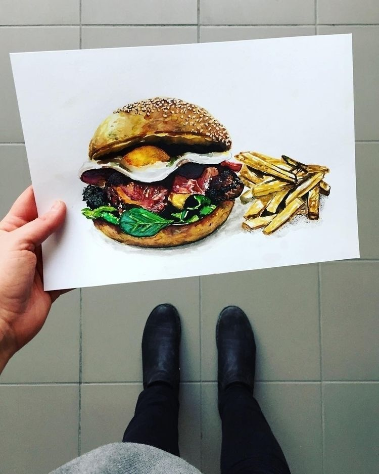 foodillustration, illustration - andrealala | ello