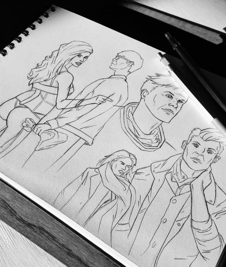 Sketch / Practice - illustration - jferreirastudio | ello