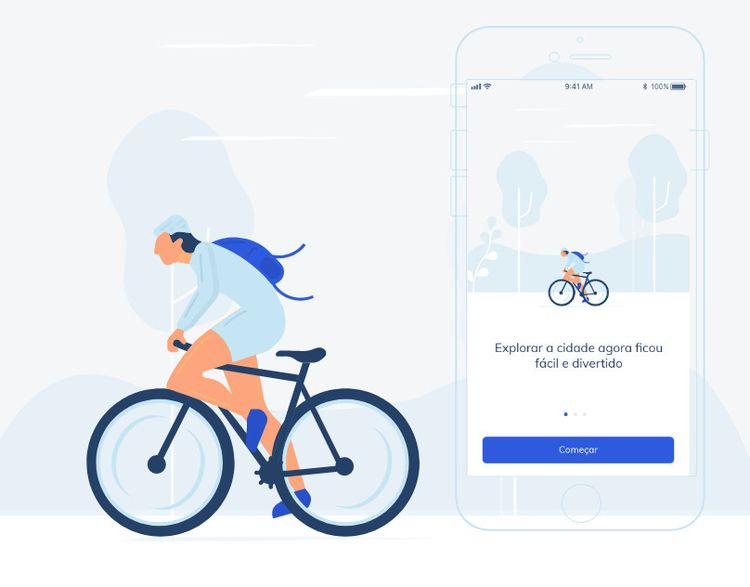 Bike App - userinterface, userexperience - julianosousa | ello