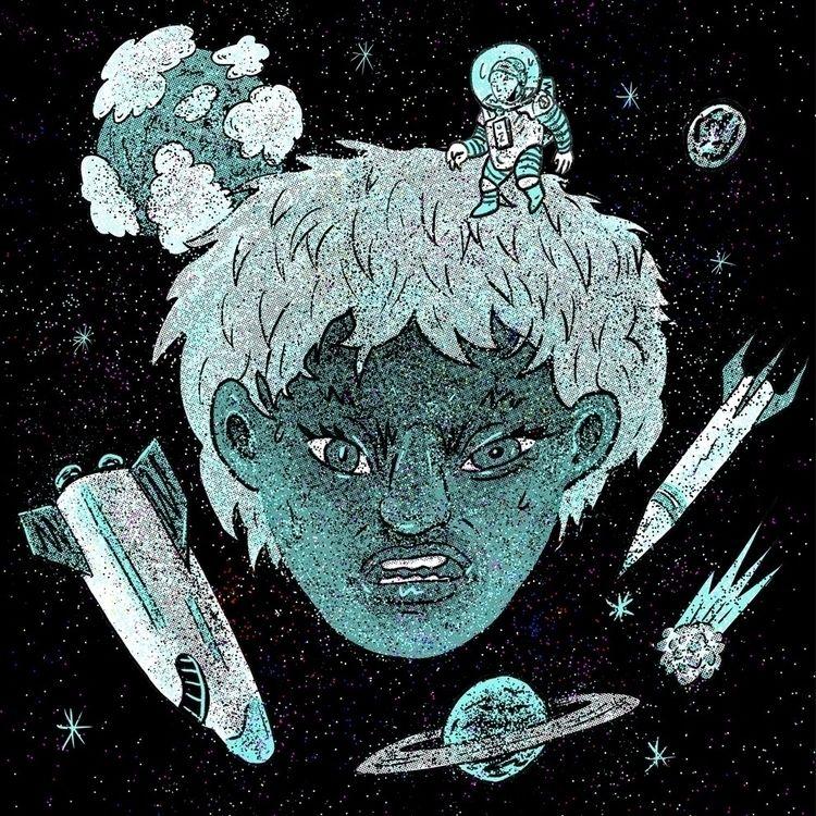 illustration, drawing, space - maha81 | ello