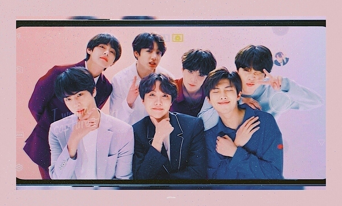 [ LG BTS ] credit:  - shinetaehyung | ello