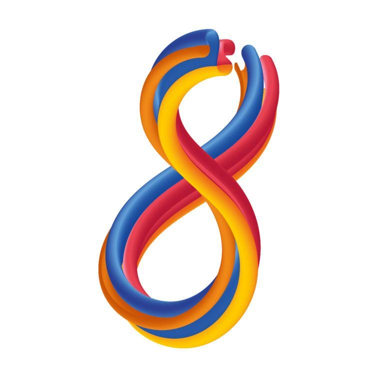 Number 8 / IG:@elfork 36Daysoft - rodzarain | ello