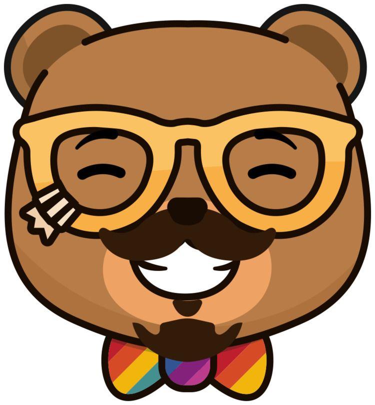 Lance Bear StickerPop - stickerpop | ello