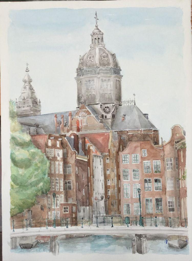 Amsterdam (de grachten) 2004 aq - ben-peeters | ello
