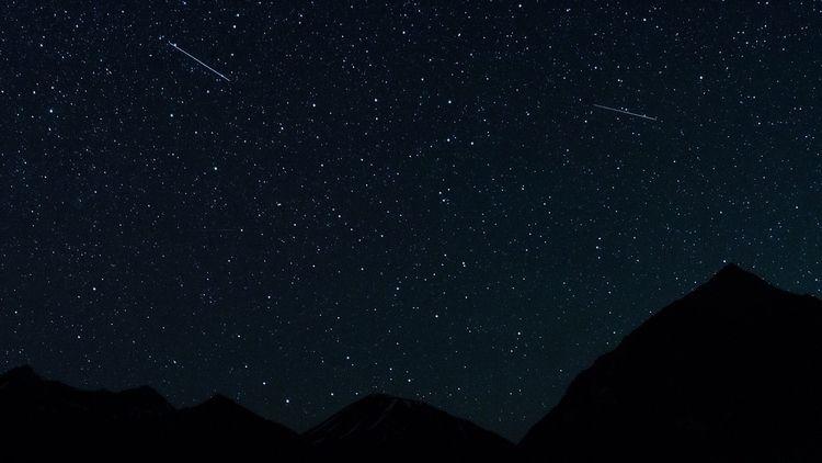Night sky Georgia, Kazbegi regi - alexlightphoto | ello