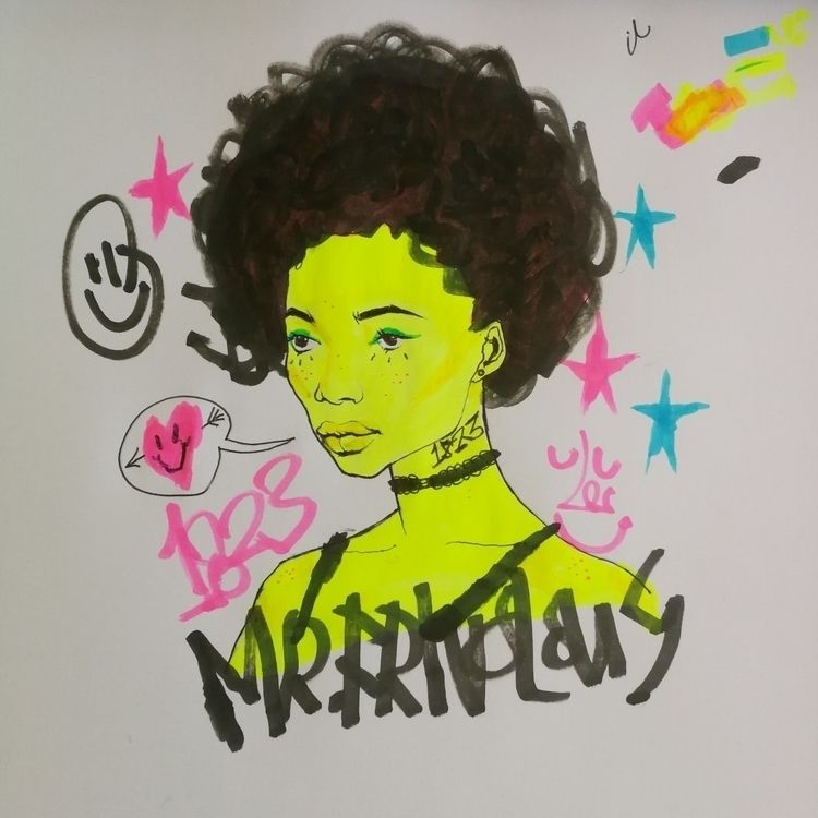 Doodle - mrfrivolous, art, fineart - mrfrivolous | ello