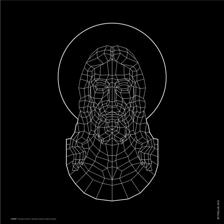 CHRIST / Black version Illustra - itemlab_designstudio | ello