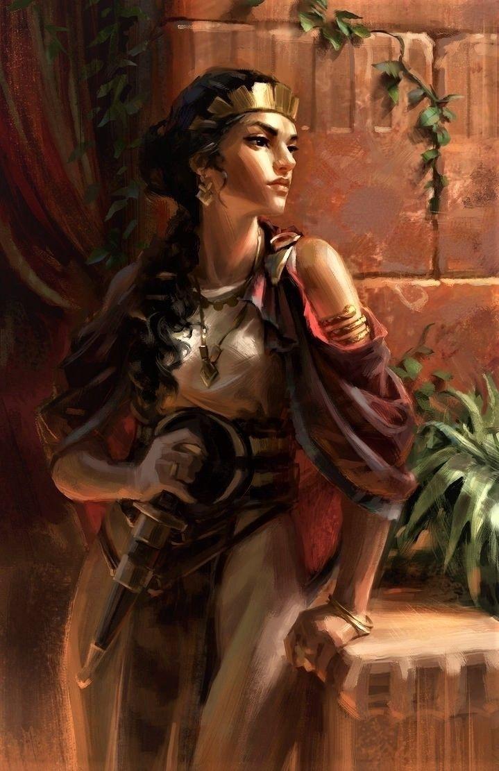 Zanobia Palmyra high priestess  - pasitheaanimalibera | ello