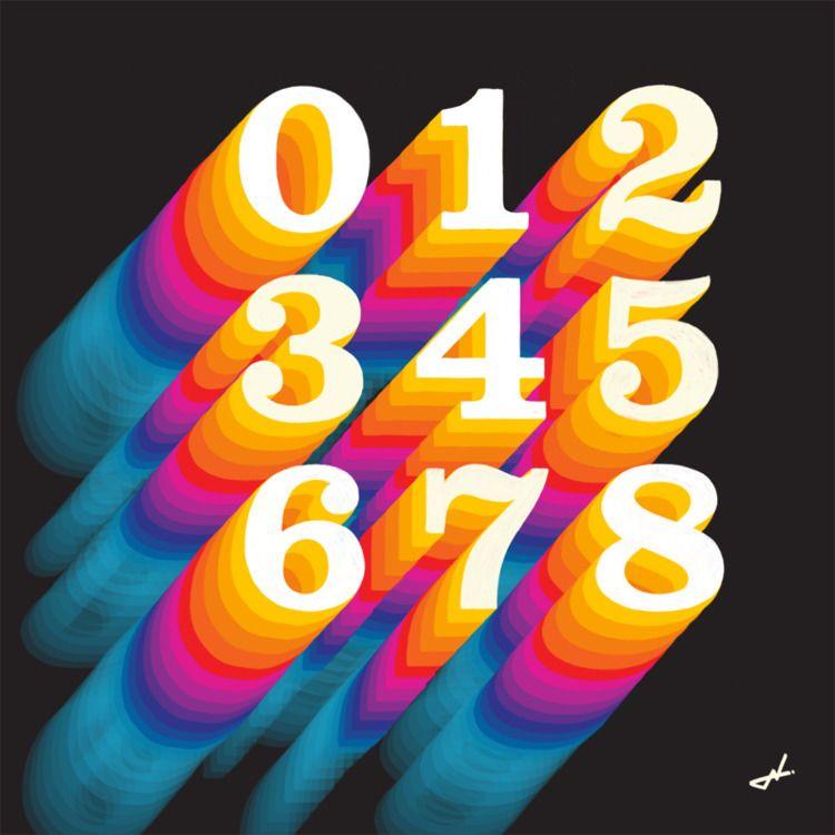 numbers - shinobiskater | ello