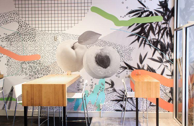 Wallpaper design Banh Mi restau - valeryl | ello